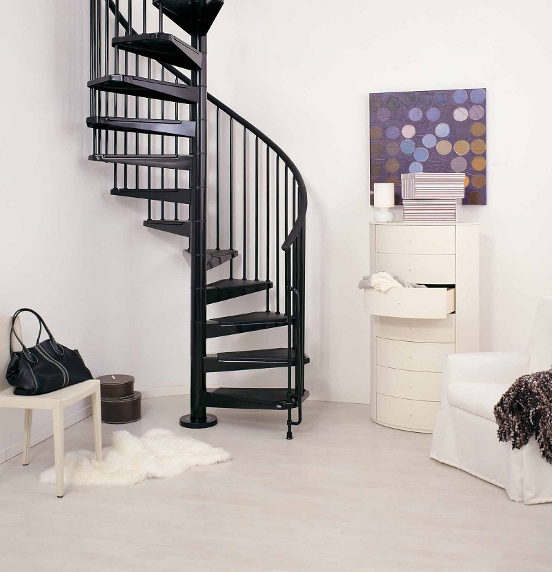 spiral staircase the civik spiral staircase is a kit spiral staircase