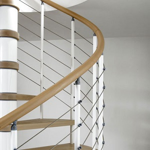 Floating Staircase Kit : Kloe Spiral Staircase Kit Staircases