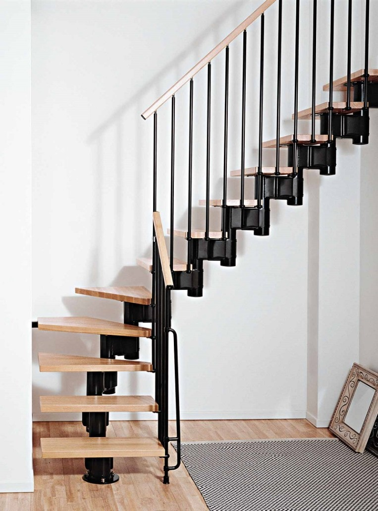 Kompact staircase for Finition interieur