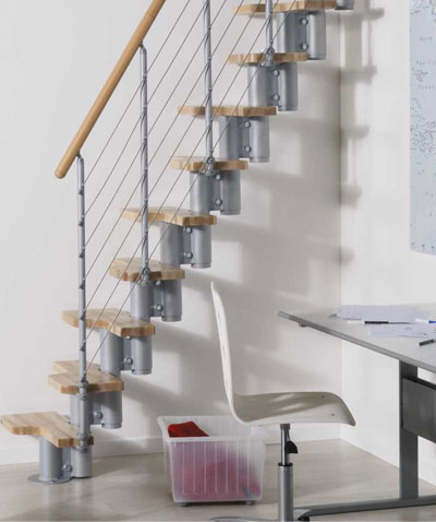 Kya Space Saver Kit Spiral Staircases