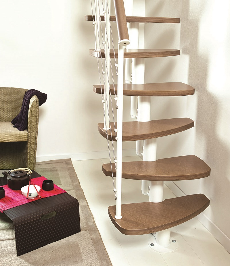 zen space saver kit spiral staircases
