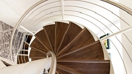 Bespoke Spiral Staircase Showroom