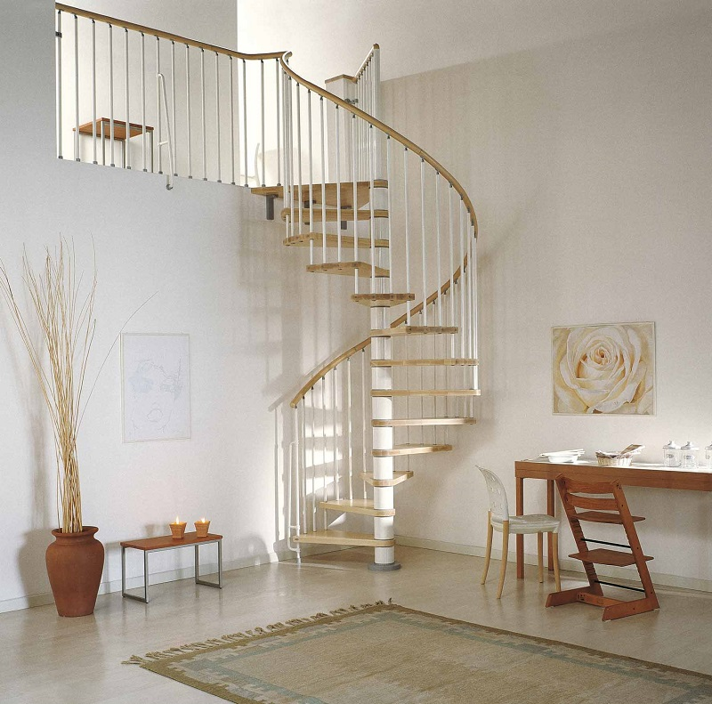 Stair Case Glass Railing Ideas