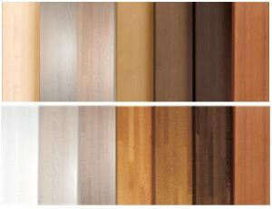 Timber stain options Genius