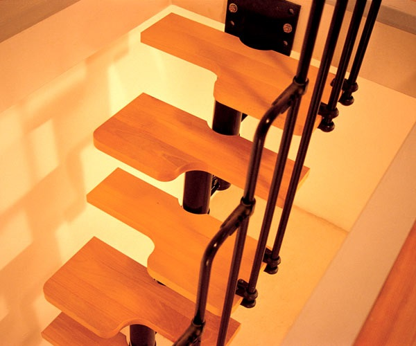 Compact Spiral Staircase: Kit Spiral Staircases